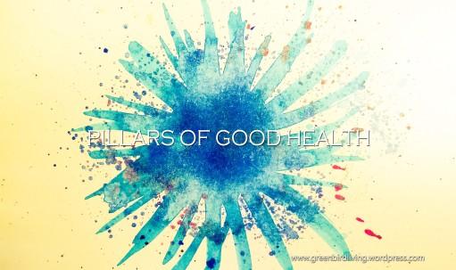 Greenbird Living Pillars of good health 2