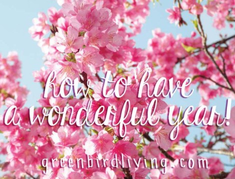 have a wonderful year