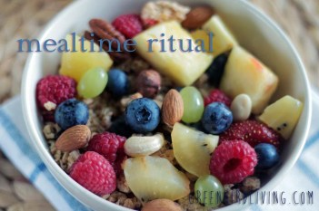 mealtime ritual